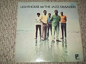 The Jazz Crusaders Lighthouse '69 Red Vinyl LP Japanese Pressing JP-8855 Pacific