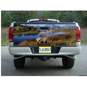 T79 DEER HUNTING BUCK Tailgate Wrap Vinyl Graphic Decal Sticker LAMINATED