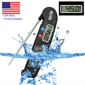 Instant Read Digital Food Meat Thermometer Kitchen Cooking BBQ Grill Smoker Tool