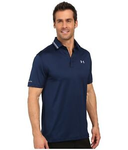 Under Armour CLOSEOUT Men's Coldblack Address Polo Shirt- Navy New With Tags
