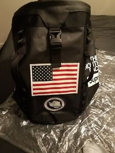 Supreme The Northface Trans Antartica Expedition Big Haul Backpack Black SS17