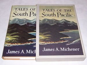 Easton Press FIRST EDITION LIBRARY Tales of the South Pacific -James A Michener