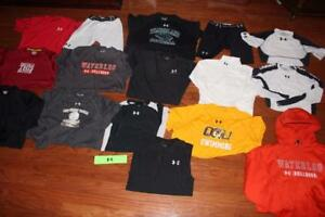 LOT 17 UNDER ARMOUR MENS T SHIRTS COMPRESSION SHORTS TEES HOODIE TANK TOPS LARGE