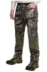 Under Armour ColdGear® Infrared Storm 2 Mossy Oak Pants Camo 1262327 NWT Sz 3XL
