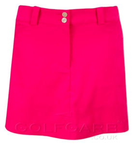 Nike Golf Tech Fit Dry Skort Shorts Size 8 Pink #256868 Women
