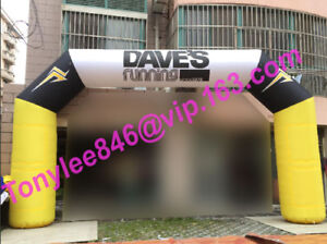 20ft Inflatable Arches with UL blowercustoms size and colorFree design