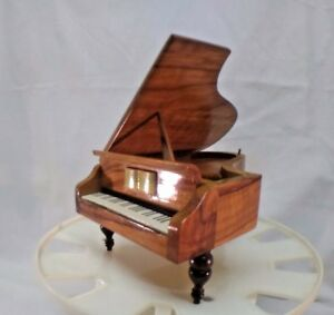 Reuge Grand Piano Shaped Music Box GodFather Swiss Movement