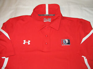 Under Armour Baseball Factory Shirt 3 Button Polo Loose Fit MLB Mens Large