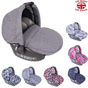 Universal HOOD FOOTMUFF Apron Wind Shield Canopy Shade BABY CAR SEAT COVER GBP 24.97