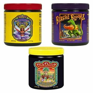 FoxFarm Soluble Trio Pack Cha Ching Beastie Bloomz Open Sesame 6 oz
