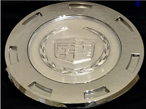 "NEW 07 14 PLAIN CREST CADILLAC ESCALADE 22"" WHEEL CENTER CAP HUB 7 SPOKE 1 x PC"