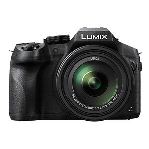 Panasonic Lumix DMC-FZ300 12.1 MP 4K Digital Camera 24x Optical Zoom WiFi