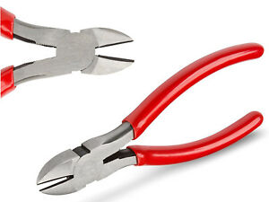 6quot; Diagonal Cutting Pliers Wire Side Cutter Nippers Contractor Grade Top Quality
