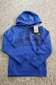 New Under Armour Cold Gear Youth Boys Fleece Sweatshirt Hoodie X-Large