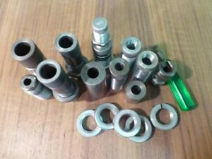 Lot of Misc. Reloading Dies & Parts ~Lyman-Pacific-Resizers-Expanders Lock Rings