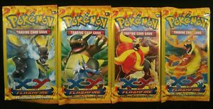 Pokemon XY FLASHFIRE NewSealed 3-Card Mini Booster Pack  ****HOT PACKS!****