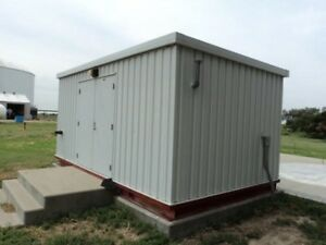 Clarke Patterson Gorman-Rupp Diesel Fire Protection Pump Station with 157 hours