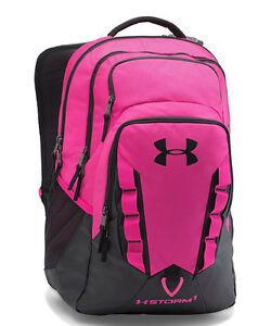 Brand NEW Under Armour UA Unisex Tropic Pink 654 Storm Recruit Backpack LARGE