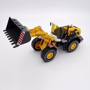Wheel Loader Model Diecast Large Forklift Construction Metal Yellow Vehicle 1:50
