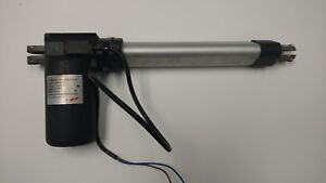 Linear Actuator IP66 12VDC 8quot; stroke 100 lbs Speed 2.80quot; sec USED PA