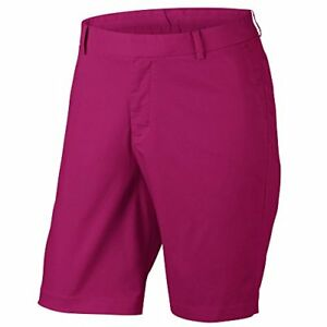 Nike Modern Fit Washed Golf Shorts 2017 Sport Fuchsia 34