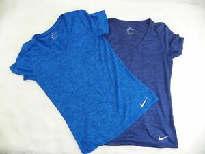 Nike DRI- FIT  T-Shirts Women's Size Small Workout Athletic Lot of 2