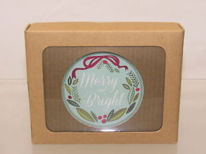 The Gift Wrap Company Recycled Boxed Holiday Cards Merry amp; Bright $22.00