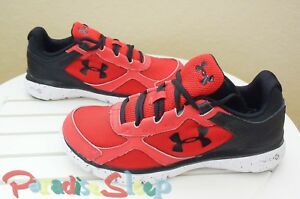 *NWOB*  Under Armour. Boys Micro G Velocity RN GR. Sold Out Color.  4 YOUTH.