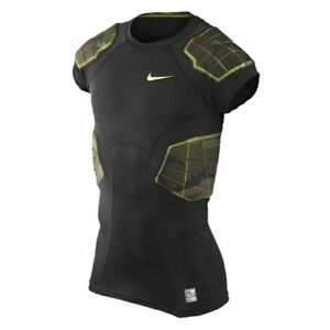 Nike Pro Combat Hyperstrong Compression Shirt Camo 4 Pads (XL)