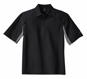 Nike Golf Dri-fit UV Polo Men's Sport Shirt (X-Small BlackGrey)