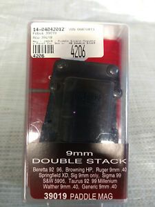 Fobus 39019 Single Magazine Pouch Right Paddle, 9mm & .40 Double Stack