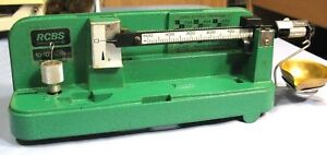 RCBS 10-10 POWDER SCALE USED