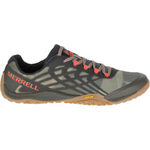 Merrell Mens Trail Glove 4 Breathable Mesh Barefoot Running Shoes