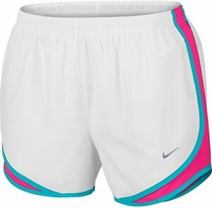 Nike Printed Tempo Running Shorts (WhiteHyper Pink X-Small)