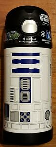 NEW! Thermos Funtainer 12 oz Bottle STARS WAR 12 Hours cold