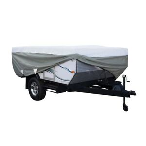 PolyPro III Folding Camping Trailer Travel Cover Hitch Camper Weather Protection