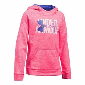 Under Armour Girls' Armour Fleece Big Logo Printed Hoodie