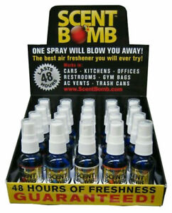 5 ASSORTED Strong Scent Bomb Air Freshener 100% High Concentrated 1 oz 5 Pack