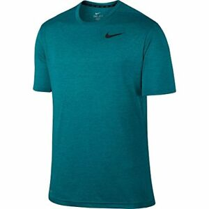 Nike Dri Fit Touch Ultra Soft Short Sleeve Men's T-Shirt (Medium Green AbyssR