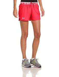 Under Armour Play Up Women's Running Shorts - SS15 - X Large - Pink