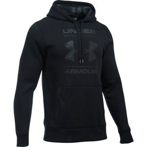 Under Armour Rival Camo Blocked Logo Pullover Hoodie - Men's - Choose SZColor
