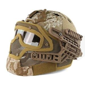 Helmet Tactical Cover Airsoft Size Military Fma Paintball M Protective Mich Kevl