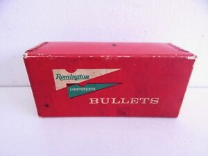 Vintage Remington 30cal .308 Dimeter Cartridge Empty Ammo Bullet Box