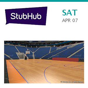 New Orleans Pelicans at Golden State Warriors Tickets (T-shirt) Tic... - Oakland