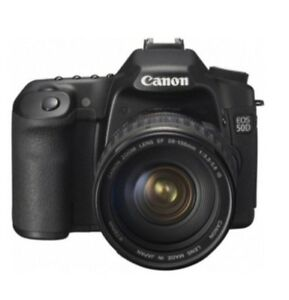 Canon EOS 50D 15.1MP Digital SLR Camera Kit w EF-S IS 28-135mm Lens