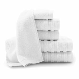 Baltic Linen Company Pure Elegance 6 Piece Luxury Turkish Cotton Towel Set