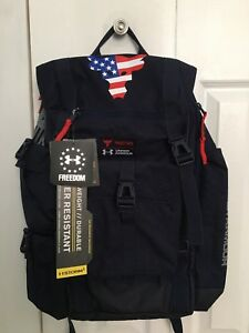 Under Armour Freedom Project Rock Patriotic Backpack. Dwayne The Rock Johnson.
