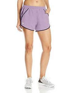 Under Armour Fly By Women's Fresh Orchid Short. SIZE LARGE. RRP 27.99. BARGAIN.