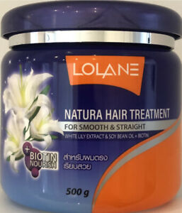 LOLANE Natura Hair Treatment for Smooth and Straight with White Lily 500g $21.00