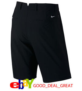2017 NIKE Tiger Woods Practice Golf Shorts 3.0 833229-010 Black $100